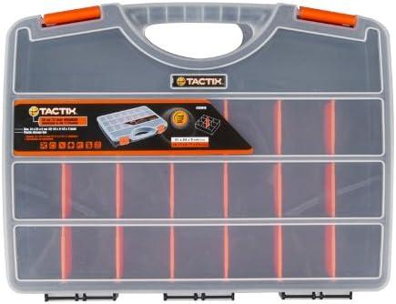 Tactix 320018 Tool Organizer, 30cm, Black Orange