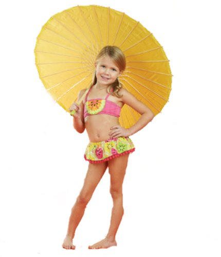 Mudpie Toddler Girl's Citrus Bikini (3T, Pink) (Mud Pie Citrus compare prices)
