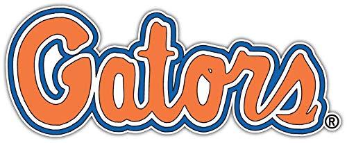 (Vinyl Sticker Florida Gators NCAA Vinyl Car Bumper Laptop Water Bottle Window 7 X 3 INCH)
