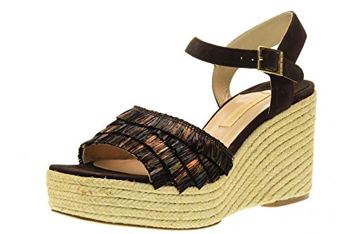 PGCO Rab1 brown Chaussures BARCELO' femmes sandales coin avec PALOMA YBpqw0