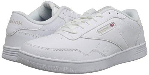 Reebok Men's Club MEMT Sneaker, White/Steel wide, 10.5 4E US
