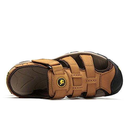 Camel Mens Altamont Closed Toe Fisherman Sandals Color Yellow Size 39 M EU S2j9Vjc