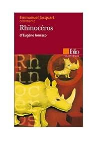 Rhinocéros d'Eugène Ionesco par Emmanuel C. Jacquart