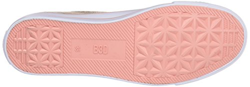 Pink Mujer para Rosa bass3d 41519 Zapatillas PqwZZz