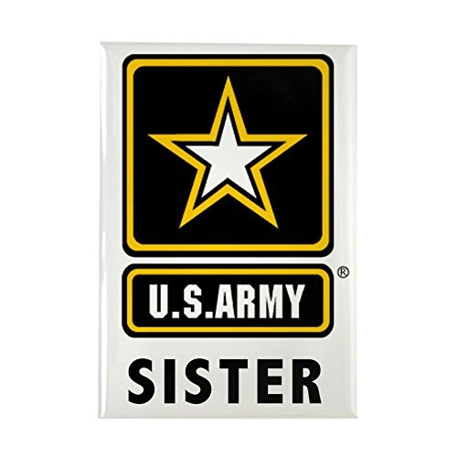 CafePress - Army Sister Magnets - Rectangle Magnet, 2