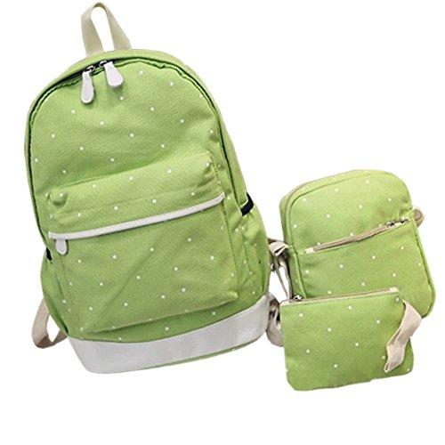 Little Finger - Bolso mochila para mujer azul oscuro Fruta Verde