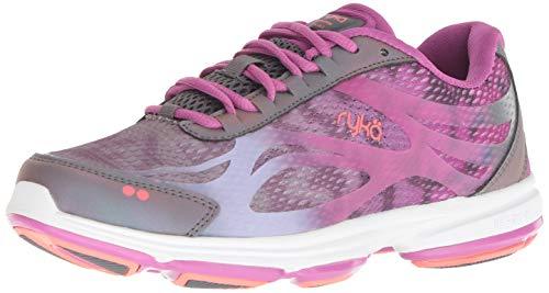 Ryka Women's Devotion Plus 2 Walking Shoe Grey 6 W US