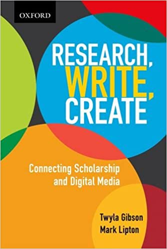 Write Create Connecting Scholarship and Digital Media Research