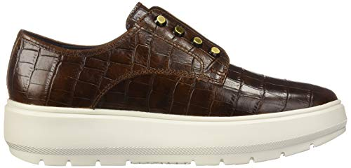 Femme Geox C C0013 Kaula Enfiler brown Baskets Marron D qFHxFB