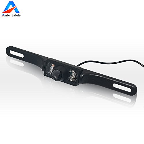 Auto Safety Universal Car Rear View IR LED Backup Camera with Waterproof Night vison