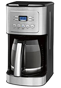 Cuisinart 14-Cup Stainless Steel Coffeemaker Machine Brew Automatic Central Programmable Glass Carafe CBC-6400PC : Best new Coffeemaker