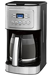 Cuisinart 14-Cup Stainless Steel Coffeemaker Machine Brew Automatic Central Programmable Glass Carafe CBC-6400PC