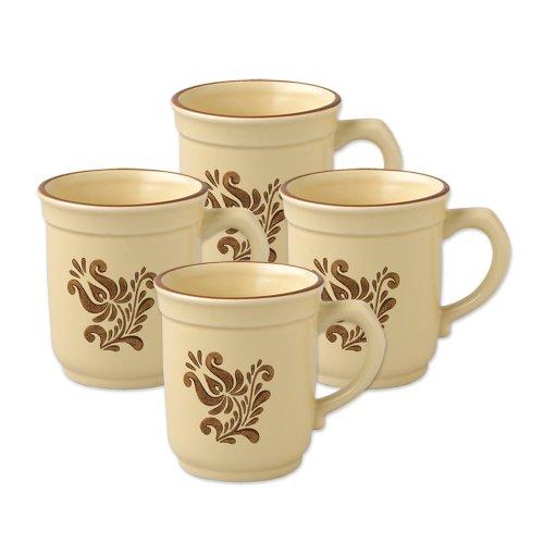 Pfaltzgraff Village Coffee Mug (14-Ounce, Set of 4)