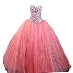 Crystals Beaded Quinceanera Dresses