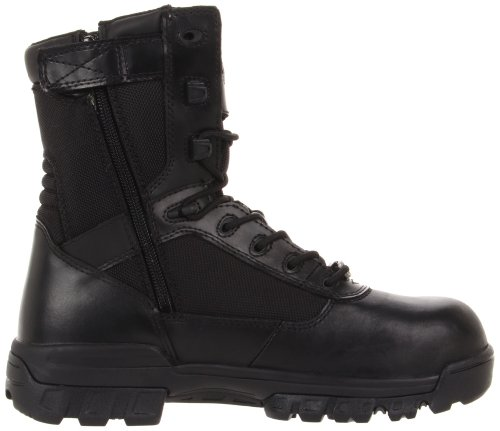 Bates Mens Tactical Sport 8 Inch Safety Toe Leather Boots nero