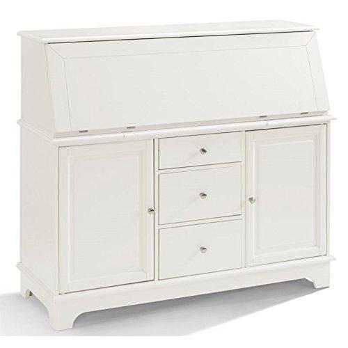 Crosley Furniture Sullivan Secretary Desk - White by Crosley Furniture