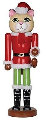 "Santa's Workshop 70770 Christmas Cat Nutcracker, 14"" ,,"