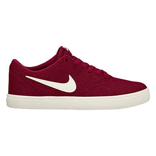 Nike New Women's SB Check Solar CVS P Skateboarding Shoe Team Red/Ivory 9.5