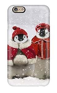 New Arrival KdQyOzr8561fnPQe Premium Iphone 6 Case(christmas Penguins)