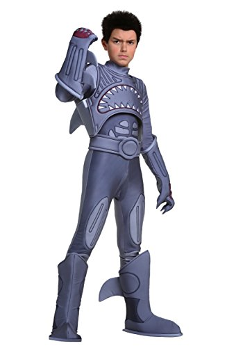 Fun Costumes Child Sharkboy Costume Sharkboy Lava Girl Movie - L -