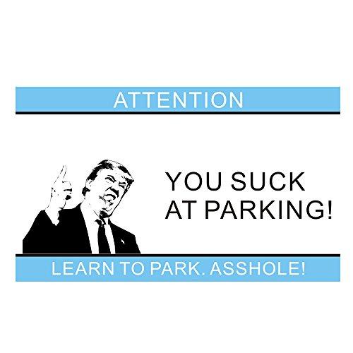 You suck at parking business cards fvcku you suck at parking business cards colourmoves