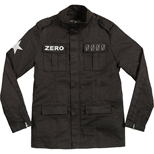 Smashing Pumpkins Men's Army Jacket XX-Large Black by Unknown