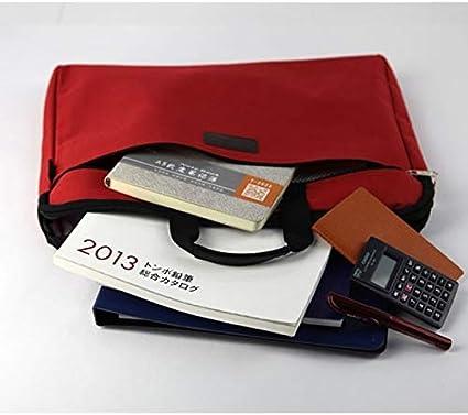 Color : Yellow HXLF Gro/ße kapazit/ät Laptop Handtasche for m/änner Frauen Reise Aktentasche Bussiness Notebook Taschen for 14 Zoll b/üro Computer Tasche umh/ängetasche