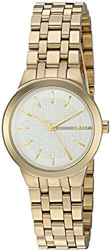 - DKNY Women's 'Park Slope' Quartz Stainless Steel Casual Watch, Color:Gold-Toned (Model: NY2491)