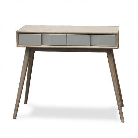 VERSA - Table d entree console bois gris Versa Arvika: Amazon.co.uk ...