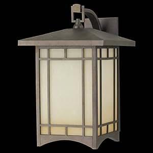 """Murray Feiss OL5303CB Outdoor Lantern - W.Brkt 10.5"""" 1 Bulb Corinthian Bronze Outdoor"""