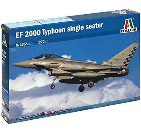 Italeri EF 2000 Typhoon Single Seater: Amazon.es: Juguetes y juegos