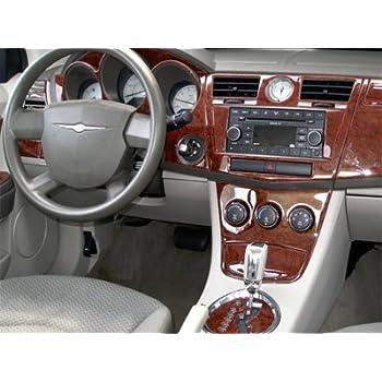 Chrysler 200 series 2 door coupe interior burl wood dash trim kit set 2011 2012 2013 for 2001 acura cl interior door handle