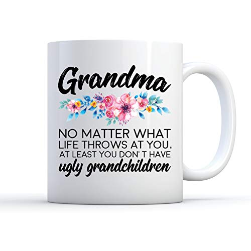 458e5f78f92 Funny Grandma Mug, Gifts For Grandmother, Grandma Mug, Grandmo.