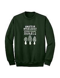 Indica Plateau Questionable Morels Unisex Adult Sweatshirt