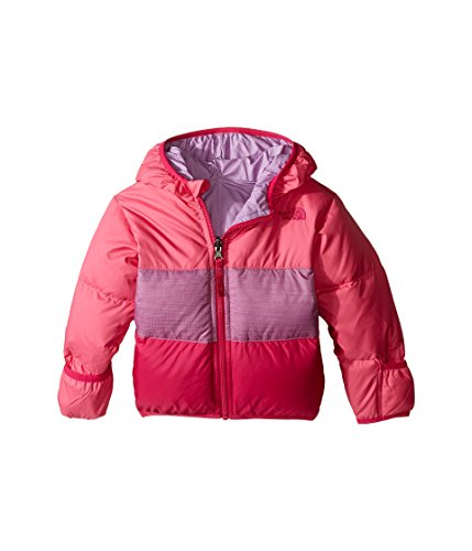 The North Face Kids Unisex Reversible Moondoggy Jacket (Infant) Cha Cha Pink (Prior Season) 3-6 Months (Moondoggy Jacket)