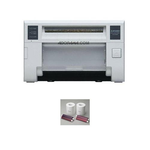 Mitsubishi CP-D70DW Pro-Performance Dye-Sub Photo Printer - Bundle w/Electric Two 6
