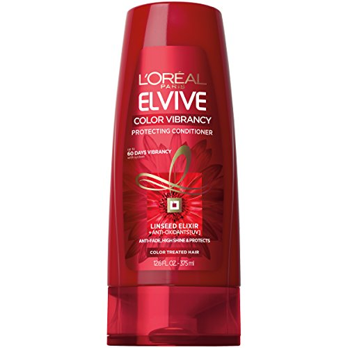Color Protecting Leave - L'Oréal Paris Elvive Color Vibrancy Protecting Conditioner, 12.6 fl. oz. (Packaging May Vary)