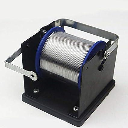Nowakk Dispensador de Soldadura de Metal Soporte de Carrete de Alambre Soporte de Metal para Soldadura