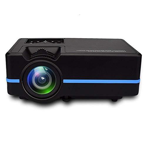 GAO Mobile Phone Smart Projector Micro Mini Projector Projector Home,Black