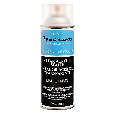 Plaid Patricia Nimocks Clear Acrylic Sealers (12-Ounce), CS200306 - Finishing Paint