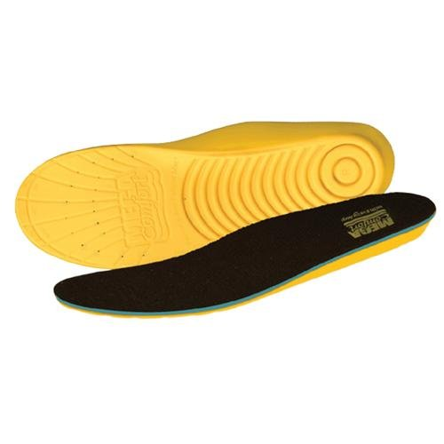 MEGA Comfort PAMM1415 Personal Anti-Fatigue Mat Insole, Dual Layer Memory Foam Technology, Men's Size 14/15 (Pack of 10)
