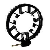 Portable Size Universal 0.8 Modulus Follow Focus Gear Ring Adjustable ABS Follow Focus Gear Ring Belt for DSLR Lens 55-65MM