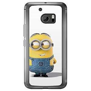 Loud Universe HTC M10 Files Minion 30 Printed Transparent Edge Case - Multi Color