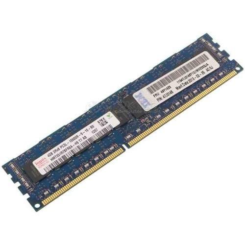 49Y1425 IBM 4 GB (Dual-Rank x8) - 1.35 V PC3L-10600R ECC LP RDIM - FRU 49Y1425 Assm 47J0146