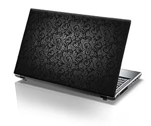 TaylorHe Laptop Skins - Pegatina de vinilo para portátil (15,6'', efecto cuero), diseño cachemir
