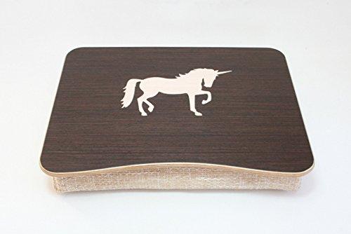 Unicorn Breakfast Tray / Bed Desk / Wooden Laptop Bed Tray /