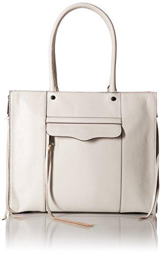 Rebecca Minkoff Side Zip Medium Mab Tote Bag, Putty, One (Medium Square Tote)