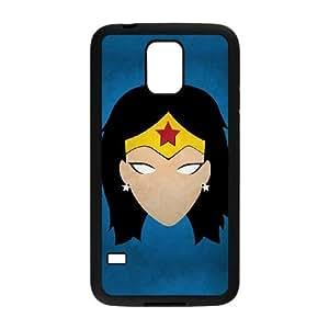 Samsung Galaxy S5 Cell Phone Case Black Wonderwoman Wcyu