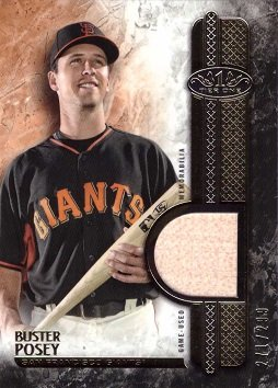 Best buster posey game used