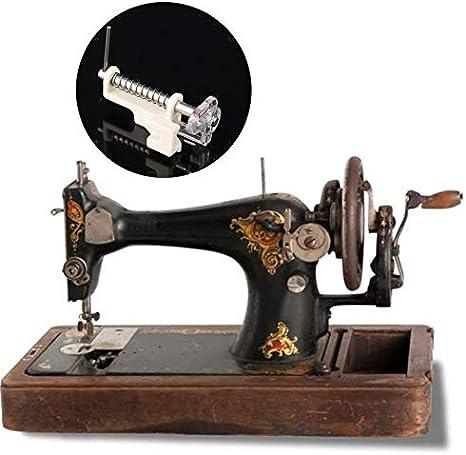 Piezas de máquinas de coser para el hogar Prensatelas Prensatelas para dar pie Pata baja Acolchado Pata para bordar Pies de costura - Blanco: Amazon.es: Hogar